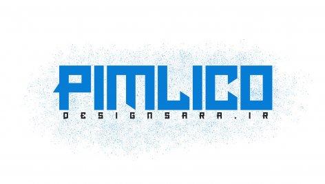 فونت انگلیسی Pimlico