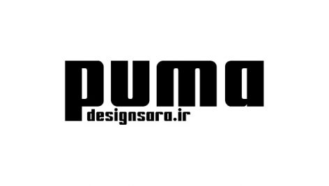 فونت لوگوی puma