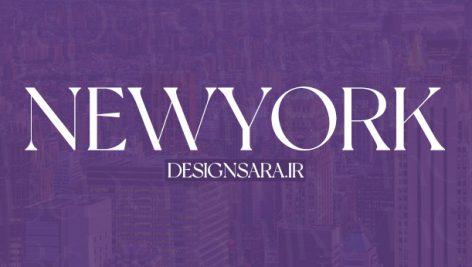 newyork font