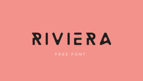 فونت انگلیسی Riviera