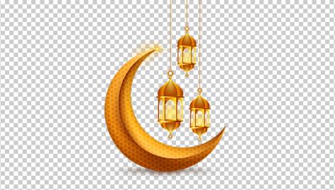 وکتور نماد ماه رمضان
