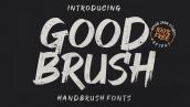 فونت انگلیسی good brush