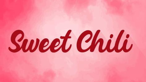 فونت انگلیسی sweet chili