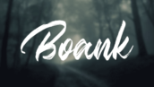 فونت انگلیسی Boank